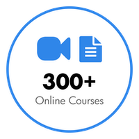 Over 300+ Online Courses