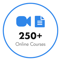 Over 275+ Online Courses