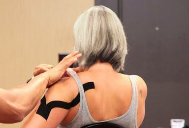 Kinesiology Taping for Geriatrics