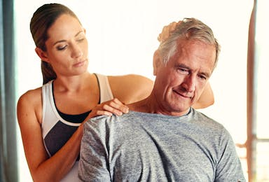 Manual Therapy, Core Activation, and Exercise Progression