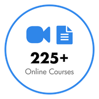 Over 225 Online Courses