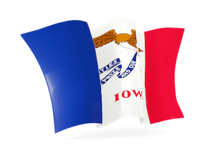 Flag of Iowa